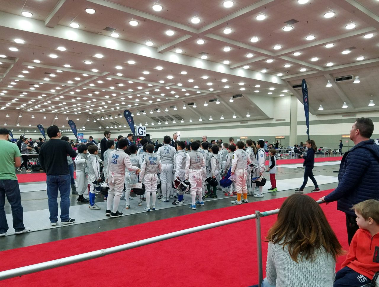 fencing tournament