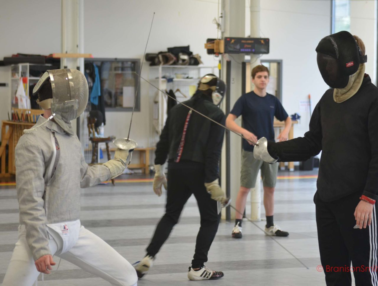 coaching fencing fundamentals