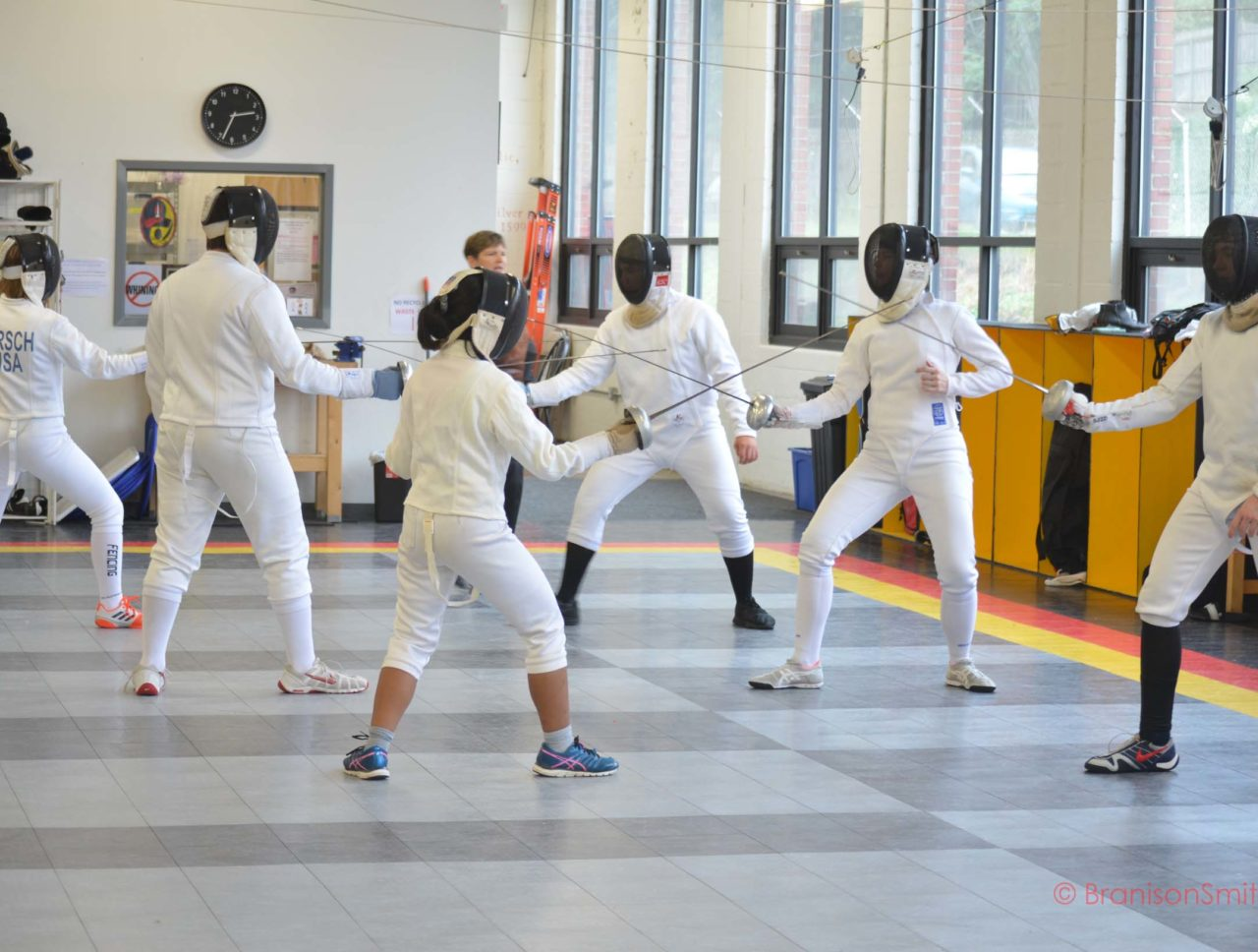 group fencing class